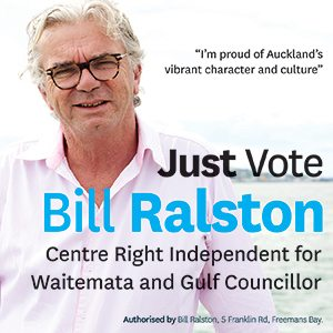 Bill Ralston to 1 Oct 2016