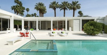 Jerome Factor's Palm Springs mansion