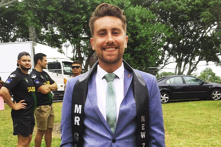 Charlie Tredway Mr Gay New-Zealand