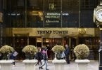 Trump Tower in winter
