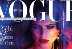 Valentina Sampaio on the cover of French Vogue