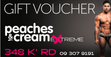 Peaches and Cream Extreme voucher