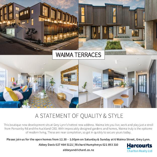 Harcourts Waima Terraces MAXI 1 June 2017