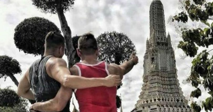Travelling Butts Gay Couple Thailand