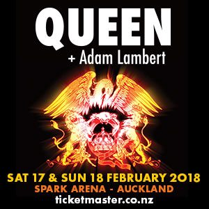 TEG Dainty Adam Lambert/ Queen Maxi 1 Jan 2018