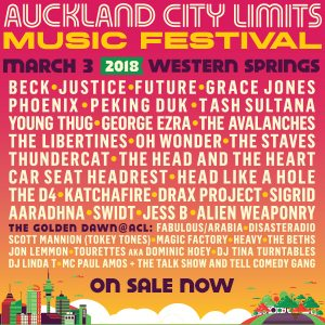 Auckland City Limits MAXI 1 Jan – 1 March 2018