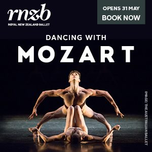 RNZB Mozart Maxi 4 May – 27 June 2018